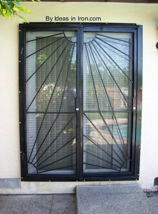 Door security sliding glass door security gate for Sliding glass doors security