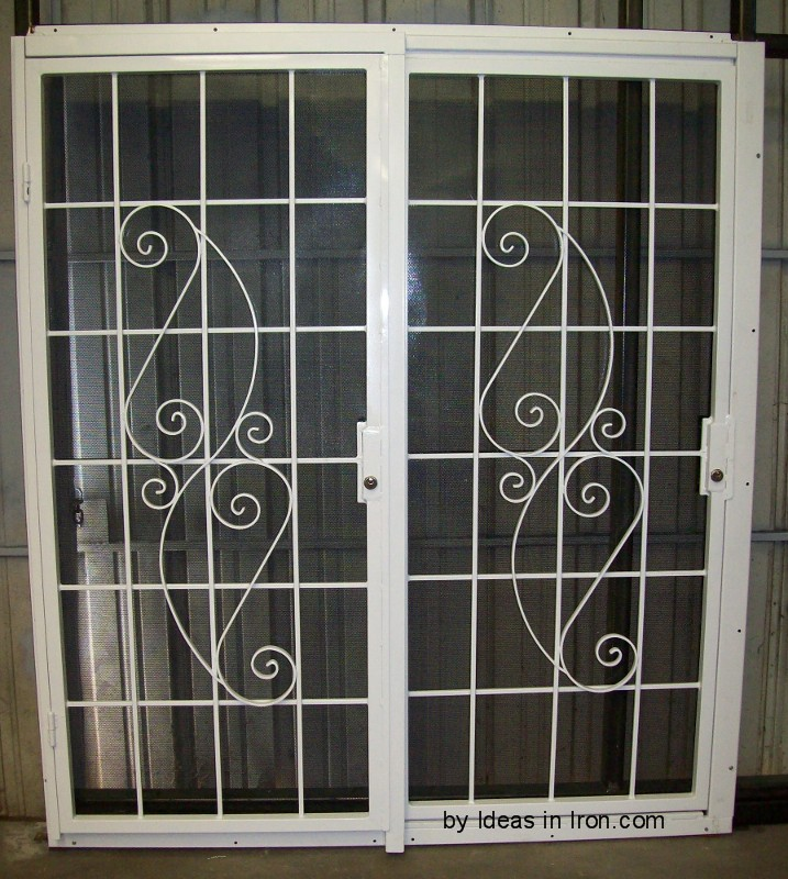 Security Patio Sliding Doors 717 x 800