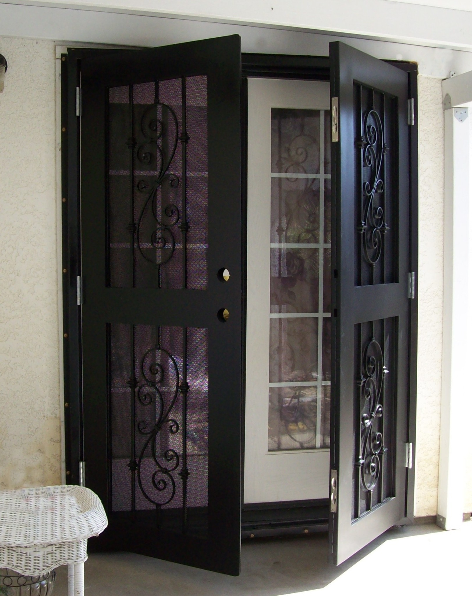 Pictures for Security doors for french doors